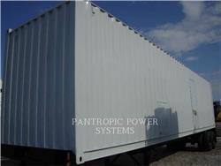 Caterpillar XQ1500, mobile generator sets, Construction