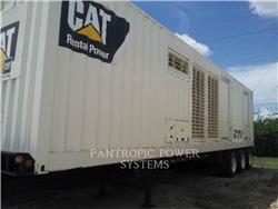 Caterpillar XQ2000 3516C, передвижные генераторные установки, Строительное