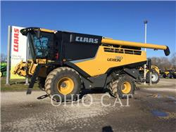Claas LEX760, combines, Agriculture