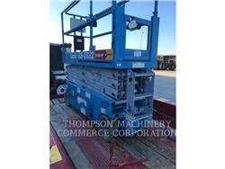 Genie GS-2632, elevador - tesoura, Equipamentos Construção