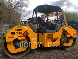 Hamm HD140, Twin drum rollers, Construction