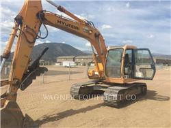 Hyundai 130LC-3, Crawler Excavators, Construction