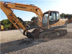 Hyundai 140LC9, Escavadoras de rastos, Equipamentos Construção