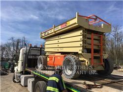 JLG 3369LE, lift - scissor, Construction