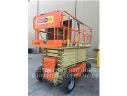 JLG 4069LE, lift - scissor, Construction
