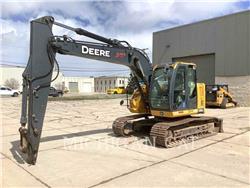 John Deere 135G, Crawler Excavators, Construction