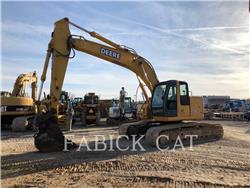 John Deere 225C, Crawler Excavators, Construction
