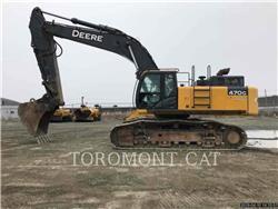 John Deere & CO. 470G LC, Koparki gąsienicowe, Sprzęt budowlany