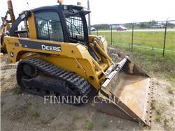 John Deere CT 322, Carregadoras de direcção deslizante, Equipamentos Construção