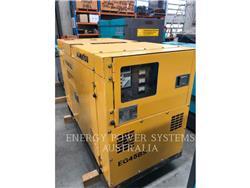 Komatsu EG45BS-2, передвижные генераторные установки, Строительное