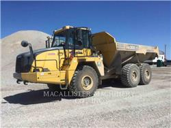 Komatsu HM 300-3, Articulated Dump Trucks (ADTs), Construction