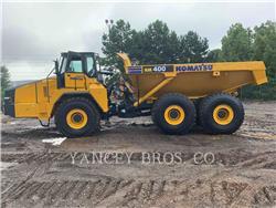 Komatsu HM400, Articulated Dump Trucks (ADTs), Construction