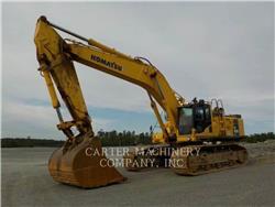 Komatsu KOM PC650, Crawler Excavators, Construction