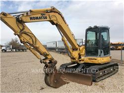 Komatsu PC78MR-6, Crawler Excavators, Construction