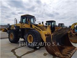 Komatsu WA470, Pás carregadoras de rodas, Equipamentos Construção
