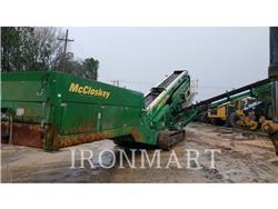 McCloskey S190, Screeners, Construction