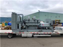 MTU 16V4000, Groupes électrogènes Stationnaires, Équipement De Construction