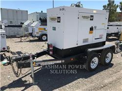 MultiQuip DCA45, mobile generator sets, Construction