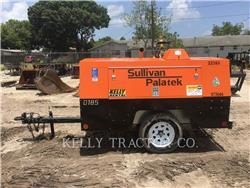 Sullivan D185P DZ, Compressed Air, Construction