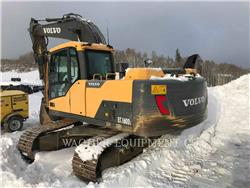 Volvo EC160 DL、履带挖掘机、建筑设备