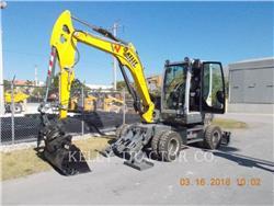 Wacker EW65, mobilbagger, Bau-Und Bergbauausrüstung
