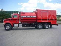 [Other] Enclosed Fuel Lube Truck TO135, Fuel Lube Trucks, Trucks and Trailers