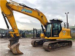JCB 220X L, Crawler excavators, Construction