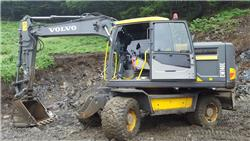 Volvo EW140E, Wheeled excavators, Construction