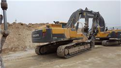 Volvo EC300DL, Crawler excavators, Construction
