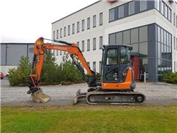 Hitachi ZX48U-5A, Mini excavators < 7t (Mini diggers), Construction