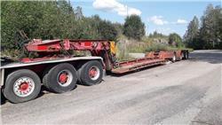 Vm-trailer VM-53-4-PNKSSAD0-SC, Låg lastande semi trailer, Transportfordon