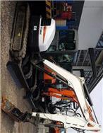 Bobcat E50, Mini digger, Construction Equipment
