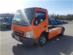 Mitsubishi Fuso Canter FE85 4x2, Koukkulava kuorma-autot, Kuljetuskalusto