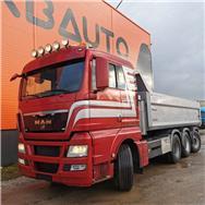 MAN TGX 35.540 8x4-4, Dump Trucks, Trucks and Trailers