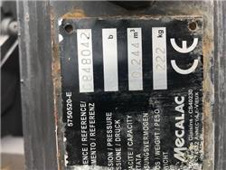 Mecalac Dieplepelbak 600 mm 10MCR, Bakken, Bouw