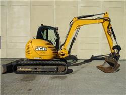 JCB 8085 ZTS, Midi-gravemaskiner 7t - 12t, Entreprenør