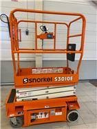 Snorkel S3010E henkilönostin, Saksilavat, Maarakennus