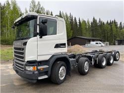 Scania G450 10x4 valmistuu ritilä-autoksi, Muut kuorma-autot, Kuljetuskalusto