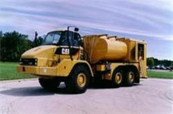 [Other] Fuel Lube CAT 730 Artic Truck - Custom Built TO127, Fuel Lube Trucks, Trucks and Trailers