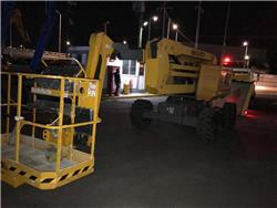 Haulotte HA16RTJ 1558, Articulated boom lifts, Construction Equipment