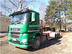 Sisu ASIAKKAAN LUKUUN Polar Carrier 8x2, Flatbed / winch trucks, Transportation