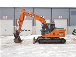Doosan DX 140LC-3, Crawler excavators, Construction