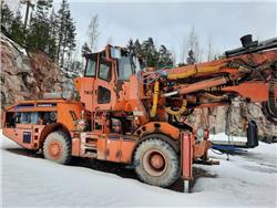 Tamrock AXERA T11S-315, Muut maanalaiset louhintalaitteet, Maarakennus