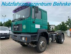 MAN FE 410A 4x4 m. Kipphydraulik/ Klima/ Standhzg., Sattelzugmaschinen, LKW/Transport