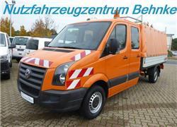 Volkswagen Crafter 35 Doka Pritsche L3/ 6 Sitze/ AHK 2,8to, Pritsche & Plane, LKW/Transport