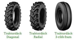 [Other] BKT/Firestone/Mitas/Pirelli, Däck, hjul och fälgar, Lantbruk