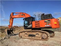 Hitachi ZX 530LCH-6, Crawler Excavators, Construction Equipment