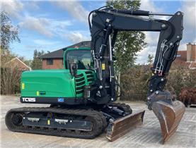 Terex Schaeff TC125 RUPSGRAAFMACHINE, Crawler Excavators, Construction