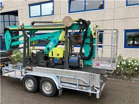 IHI LEM1500, Articulated boom lifts, Construction