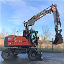 Atlas 150 W, Wheeled Excavators, Construction